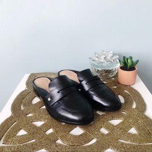 SCHUTZ Shoes - SCHUTZ Daianne Leather Mule Loafer Size 7